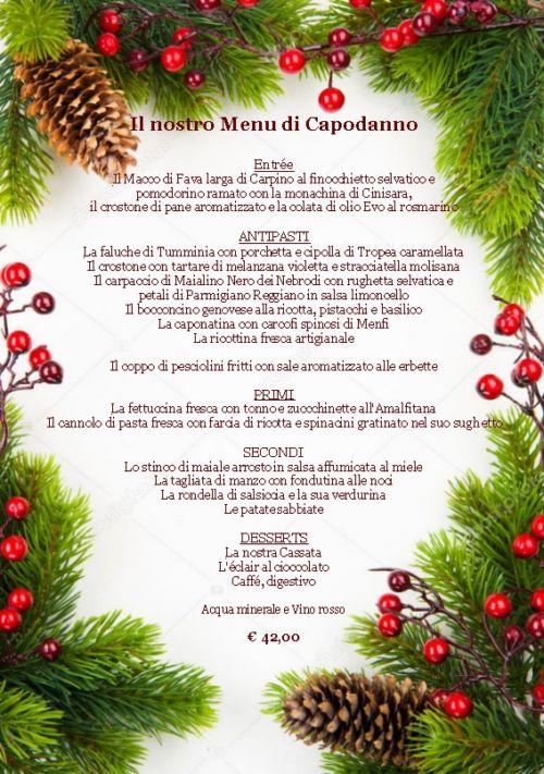 (Italiano) Menu Capodanno
